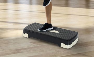 £14.99 instead of £29.99 (from MHStar) for an aerobic fitness stepper - saving you 50%