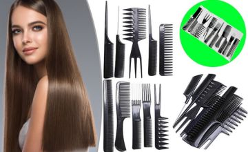 £2.99 instead of £19.99 for a 10pc professional hair styling comb set from ViVo Technologies - save 85%