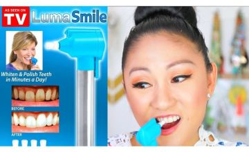£3.99 instead of £14.99 for a Luma Smile Dental Whitening Set - Tooth Polisher with 5 Polishing Cups from Forever Cosmetics - save 73%