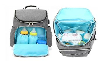 £16 instead of £39.99 (from WowWhatWho) for a multi-function maternity backpack - save 60%