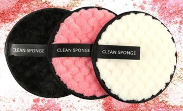 £4.99 instead of £29.99 (from Litnfleek) for a pack of three double-sided makeup remover sponges - save 83%