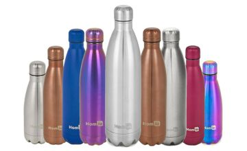From £7.99 instead of £19.99 (from DealBerry) for a Homiu stainless steel metallic hot and cold bottle - save up to 60%