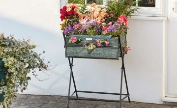 £16.99 instead of £39.98 (from CJ Offers) for a metal garden trug planter with seeds or £24.99 for a planter with seeds and a cover - save up to 58%