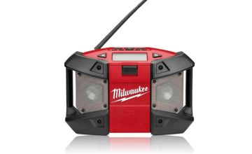 £74.99 instead of £113.05 for a Milwaukee job site radio - save 34%