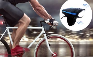 £12.99 instead of £39.99 for a 3-mode 250 lumen bike light with horn from Ugoagogo - save up to 68%