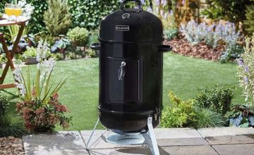 £89 instead of £144.95 (from CJ Offers) for a barrel charcoal smoker or £110 for a barrel charcoal smoker and cover - save up to 39%