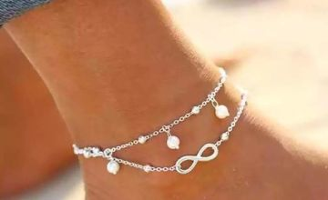 £2.99 (from Yello Goods) for a double layer infinity anklet in gold or silver colour!