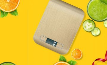 £7.99 instead of £23.99 (from Wish Imports) for digital kitchen scales - save 67%