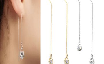 £4.99 (from Spezzee) for a pair of ladies' water drop crystal earrings