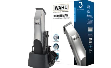 £18.99 instead of £29.04 (from Wahl) for a Groomsman Pro cordless beard trimmer - save 35%