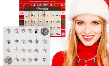 £7.99 instead of £35.99 (from Avant Garde) for a Christmas jewellery advent calendar - save 78%