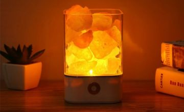 £9.99 instead of £39.99 (from Hey4Beauty) for a air purifier and crystal salt lamp - save 75%