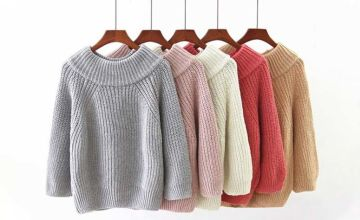 £9.99 instead of £39.99 (from hey4beauty) for a knitted long sleeve off-shoulder jumper - save 75%