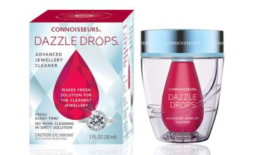 £6.98 instead of £12.99 (from Connoisseurs) for a Dazzle Drops jewellery cleaner - save 46%