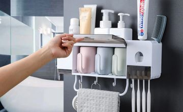 £9.99 (Wish Imports) for a two-cup bathroom accessories set, or £11.99 for a three-cup set - save up to 67%