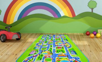 £9.99 instead of £29.99 (from MBLogic) for a children's small city play mat, or a large play mat for £11.99 - choose from two sizes and save up to 67%