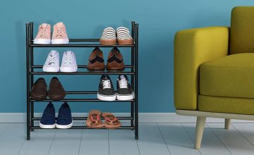 £11.99 instead of £29.99 (from Fusion Online) for a two tier extendable shoe rack, £14.99 for a three tier rack or £16.99 for a four tier rack - save up to 60%