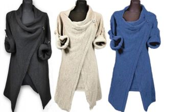 £9.99 instead of £29.99 for a Women's Loose Cardigan Sweater - 3 Colours to choose from My Brand Logic - save 67%