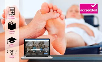 £19 instead of £299 for an online reflexology course from Harley Oxford - save 94%