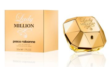 £42.99 instead of £80 for a Paco Rabanne Lady Million 50ml EDP spray - save 46%