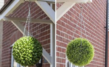 From £14.99 (from Garden & Camping) for an artificial hanging topiary ball- save up to 63%