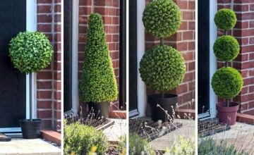 From £32.99 instead of £79.99 (from Garden & Camping) for an artificial topiary tree - save up to 59%
