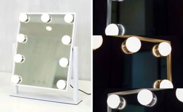 From £39.99 instead of £99.99 (from Jack Stonehouse) for a Hollywood style LED bulbs tabletop mirror - choose from three sizes and save up to 60%