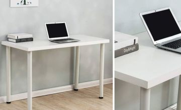 £39 instead of £89.99 (from Meriden Furniture) for a minimal computer desk table coming in 3 colours - saving you 57%