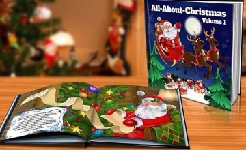 £4.99 instead of £14.99 (from Dinkleboo) for a softback kids' personalised Christmas storybook or £7.99 for a hardback book - save up to 67%