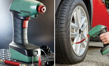 £19 instead of £69.99 (from Lit N Fleek) for a portable tyre air pump - Save 73%