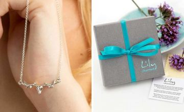 £17.99 instead of £38.05 (from Lily Charmed) for a Sterling silver 3D stag necklace - save 53%