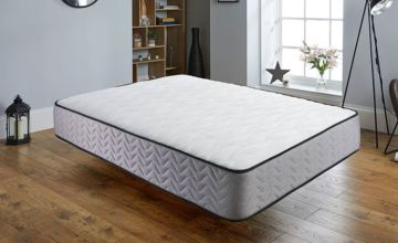£39 instead of £158 (from Sleepy N) for a grey supreme memory foam quilted mattress - save up to 75%