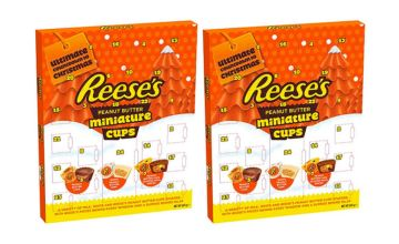 £9.99 instead of £28.99 (from Avant Garde) for a pack of two Reese's snowman peanut butter advent calendar - Save 66%