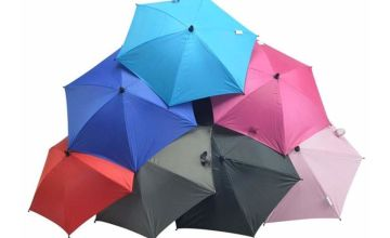 £7.99 (from For Your Little One) for a universal baby buggy parasol - choose from nine colours!