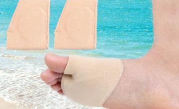 £3.99 for one Gel Cushion Foot Pad, or £6.99 for two from Blufish - save up to 80%