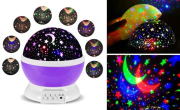 £6.99 instead of £39.99 (from Wish Imports) for a star projector light - Save 83%