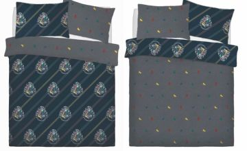 £13.99 instead of £39.98 (from Five Minutes More) for a single Harry Potter reversible duvet cover set or £18.99 for a double duvet - save up to 65%