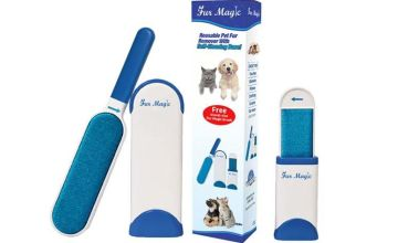 £8.99 instead of £14.99 (from Fur Magic) for a Fur Magic hair remover lint brush - save 40%