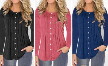 £6.99 (from SpeZzee) for a women's button-up top