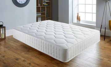 £39 (from Sleepyn) for a small single white memory foam mattress, £49 for a single, £64 for a small double, £69 for a double, £89 for a king size and £109 for a super king size - save 74%