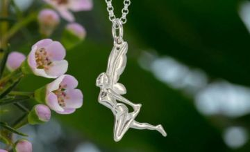 £16.99 (from Lily Charmed) for a sterling silver fairy necklace