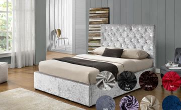 From £259.99 for a bedstead bed with archetypal chesterfield headboard from Dreamtouch Mattresses LTD - save up to 63%
