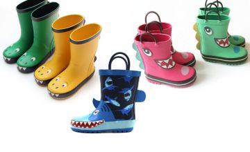 £9.99 instead of £59.99 (from Magic Trend) for a pair of children's cartoon wellies – choose from five styles in UK children's shoe sizes 7-12 and save 83%