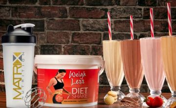 £12.99 (from Matrix) for a 10 day supply* of Matrix 'weight management' shake or £18.99 for a 21 day supply* - save up to 68%
