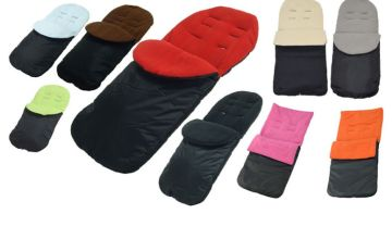 £8.99 (from For Your Little One) for a baby pushchair and pram footmuff