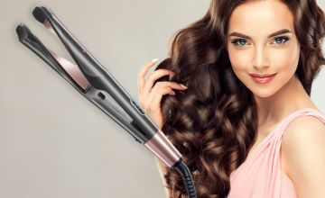 £22 instead of £119.99 (from Magic Trend) for a curl and straight 2-in-1 straightener - save 82%