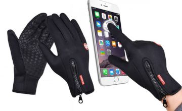 £6.99 instead of £19.99 (from Hey4beauty) for a pair of windproof touchscreen compatible sports gloves - save 65%