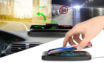 £9.99 instead of £39.99 (from Wow What Who) for a 2-in-1 car charging and navigation dock - save 75%