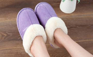 £12 instead of £29.99 (from Who What Who) for a pair of women's indoor warm slippers - save 60%