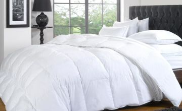 From £16.99 instead of £72.99 (from E Home Store) for a 13.5 tog duck and down duvet, or from £19.99 for a 15 tog duvet - save up to 77%